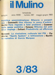 Copertina del fascicolo dell'articolo La riforma della pubblica amministrazione: quali risposte? e a quali problemi?