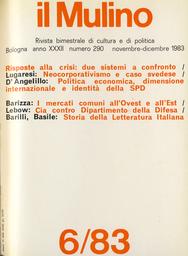 Copertina del fascicolo dell'articolo Cee-Comecon