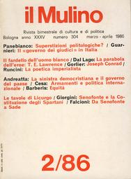 Copertina del fascicolo dell'articolo La natura come legge e l'organizzazione come destino: la poetica imperialista di Rudyard Kipling