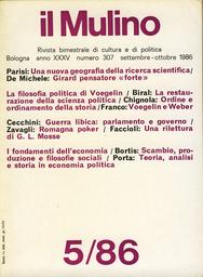 Copertina del fascicolo dell'articolo Dal disordine all'ordine. René Girard, un pensatore