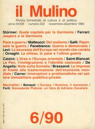 Copertina del fascicolo dell'articolo La Chiesa, la pace e l'ultima guerra
