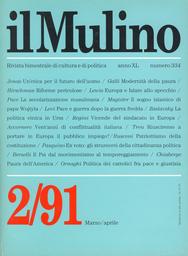 Copertina del fascicolo dell'articolo Un nuovo principio etico per il futuro dell'uomo