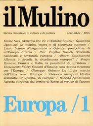 Copertina del fascicolo dell'articolo Francia e Italia, la possibilità di un'intesa