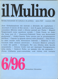 Copertina del fascicolo dell'articolo Federalismo, regionalismo e welfare state