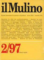 Copertina del fascicolo dell'articolo Le complicate scelte di Forza Italia