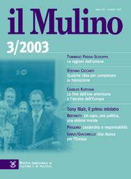 Copertina del fascicolo dell'articolo Le ragioni dell'unione