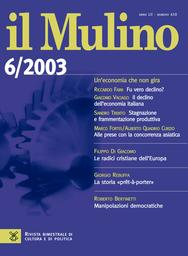 Copertina del fascicolo dell'articolo Le elezioni europee del 2004: se viene il tempo della politica