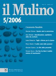 Copertina del fascicolo dell'articolo Società del rischio e sovranità costituzionale