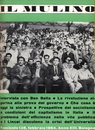 Copertina del fascicolo dell'articolo La rivoluzione algerina alla prova del governo