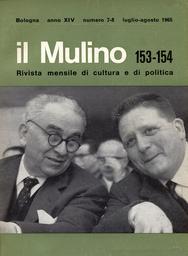 Copertina del fascicolo dell'articolo L'attuale topografia politica del PSDI