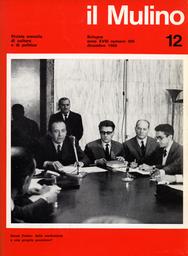 Copertina del fascicolo dell'articolo 1970: il potere temporale del Papa: secondo tempo