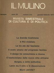 Copertina del fascicolo dell'articolo Crisi del libro e libertà della cultura