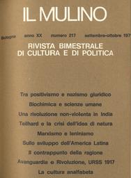 Copertina del fascicolo dell'articolo La cultura analfabeta e i suoi ammaestramenti