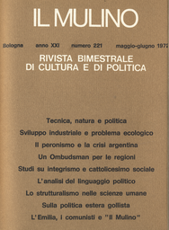 Copertina del fascicolo dell'articolo La presenza nascosta di Mazzini nella tradizione democratica italiana