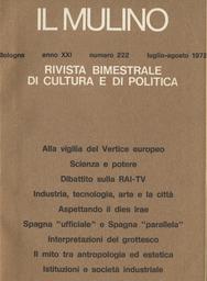 Copertina del fascicolo dell'articolo Etica ed estetica dell'ecologia: aspettando il dies irae