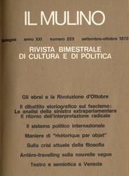 Copertina del fascicolo dell'articolo Teatro e semiotica a Venezia