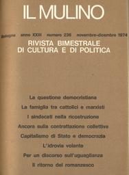Copertina del fascicolo dell'articolo La famiglia fra cattolici e marxisti