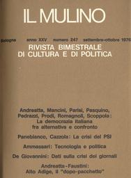 Copertina del fascicolo dell'articolo Comunismo e società: Mario Schettini dalla fiducia alla disillusione