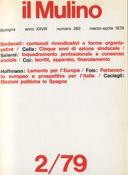 Copertina del fascicolo dell'articolo Inquadramento professionale e consenso sociale nel sistema industriale