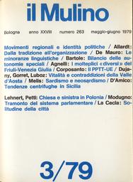Copertina del fascicolo dell'articolo I molteplici